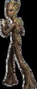 Avengers infinity war Groot living tree