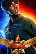 Captain Marvel Character Poster 05