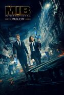 MIB Int Real 3D Poster