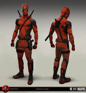 Deadpool Concept Art 02