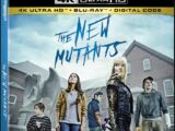 The New Mutants Home Video