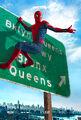 Spider-Man-hanging poster