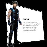 Thor Odinson Infinity War Bio