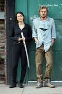Iron Fist - Set - Danny and Colleen - September 17 2016 - 2