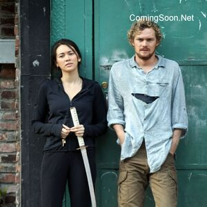 Iron Fist - Set - Danny and Colleen - September 17 2016 - 2.jpg