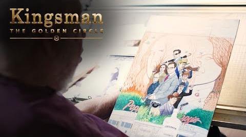 Kingsman The Golden Circle Al Jaffee Creates The Golden Foldin' 20th Century FOX
