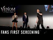 VENOM- LET THERE BE CARNAGE - Fans First Screening