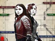 Scarlet-Widow Heroines