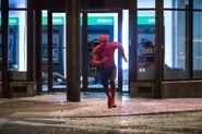 Spiderman-robbery