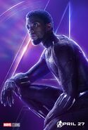 Avengers Infinity War Black Panther Poster