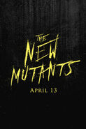 New Mutants teaser poster