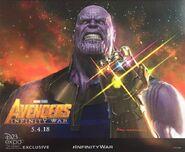 Avengers Infinity War D23 Thanos Poster