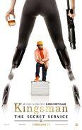 Kingsman Valentine poster