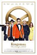 Kingsman The Golden Circle UK poster