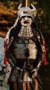Silver Samurai armor