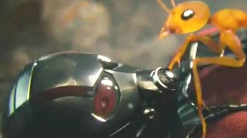 ANT-MAN Promo Clip - Wild Outside Ants (2015) Paul Rudd Marvel Superhero Movie HD