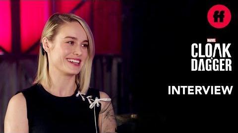 Brie Larson Interview Captain Marvel's Dark Past Marvel's Cloak & Dagger