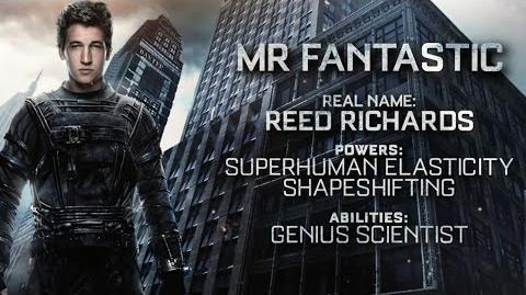 "Fantastic Four ""Mr"
