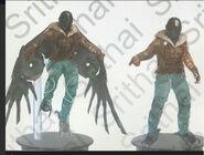Spider-Man - Homecoming - Vulture - Concept Art - November 8 2016