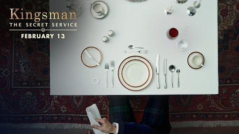Kingsman The Secret Service How To Be A Kingsman Dinner Etiquette HD 20th Century FOX