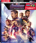 Avengers Endgame Target Exclusive 4K Blu Ray