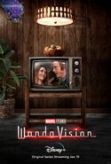WandaVision Colored TV Poster