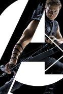 Clint Barton Avengers poster