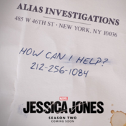 Jessica Jones Season 2 Key Art