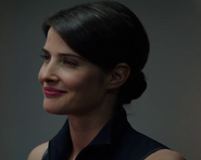 Maria hill smiling