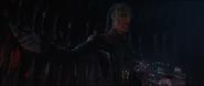Ebony Maw attempts to strangle Nebula