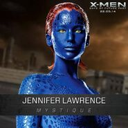 Mystique XmenDOFP past