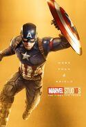 Captain America 10th Anniversary Poster