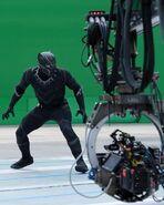 Captain America Civil War Filming BTS 5