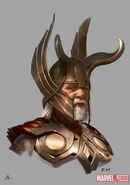 Thor Concept Art - Odin 001