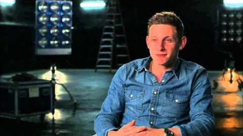 """The Fantastic Four Jamie Bell """"The Thing"""" Behind the Scenes Movie Interview -2015"""
