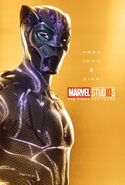 Black Panther Marvel 10th Anniversary Poster More Than A King