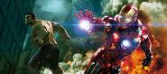 Hulk and Iron Man - Avenger