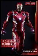 Iron Man armor XLVI Hot Toy Preview