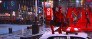 Spider-Man getting Electros attention