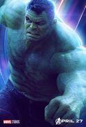 Avengers Infinity War Hulk poster