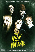 The New Mutants In Theaters Poster