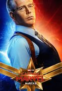 Captain Marvel Character Poster 08