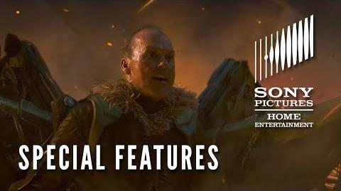 """SPIDER-MAN HOMECOMING Now on Digital! SPECIAL FEATURES """"The Vulture Takes Flight"""""""