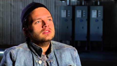 "Captain America The Winter Soldier Sebastian Stan ""Bucky Barnes"" Official On Set Interview"