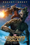Poster - Rocket and Groot