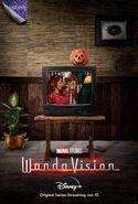 WandaVision Halloween Poster