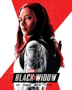 Black Widow Tracie Ching Poster