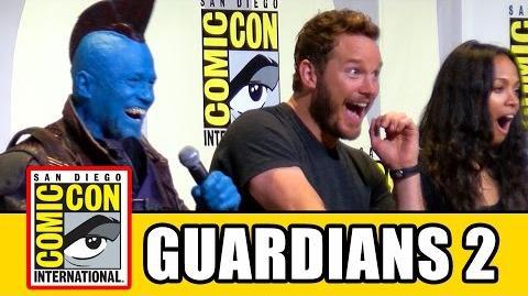 GUARDIANS OF THE GALAXY 2 Comic Con 2016 - Chris Pratt, Kurt Russell, Michael Rooker, Dave Bautista