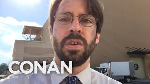 """Martin Starr Spills """"Spider-Man Homecoming"""" Spoilers - CONAN on TBS"""