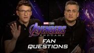 The Russo Brothers Answer Fan Questions About Avengers Endgame Experience it in IMAX®